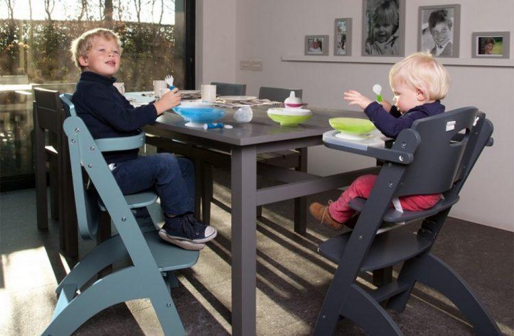 Krzesełko do karmienia Childhome Lambda 2